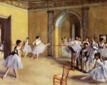 El foyer de la danza en la Ópera