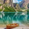 Lago di Braies, Italia