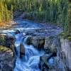 Cascada Sunwapta, Canadá