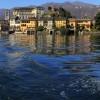 Lago de Orta, Italia