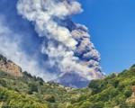 Erupción, volcán Etna