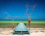 Muelle en Cuba