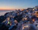 Atardecer en Grecia