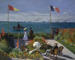 La terraza de Sainte-Adresse, Claude Monet