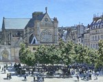 La iglesia Saint-Germain-l'Auxerois, Claude Monet